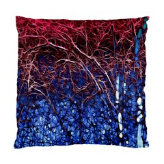 Autumn Fractal Forest Background Standard Cushion Case (two Sides)