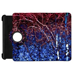 Autumn Fractal Forest Background Kindle Fire HD 7