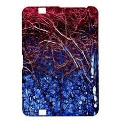 Autumn Fractal Forest Background Kindle Fire Hd 8 9