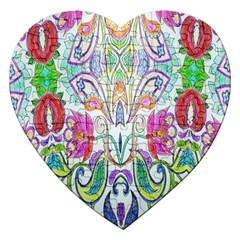 Wallpaper Created From Coloring Book Jigsaw Puzzle (heart)