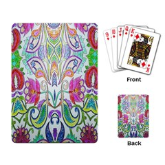 Wallpaper Created From Coloring Book Playing Card