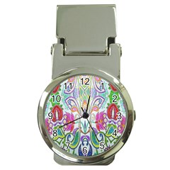Wallpaper Created From Coloring Book Money Clip Watches