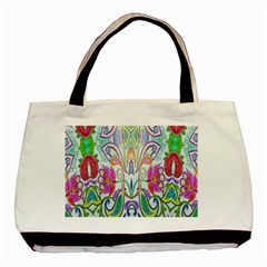 Wallpaper Created From Coloring Book Basic Tote Bag