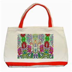 Wallpaper Created From Coloring Book Classic Tote Bag (red)