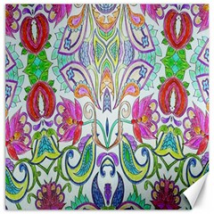 Wallpaper Created From Coloring Book Canvas 12  X 12