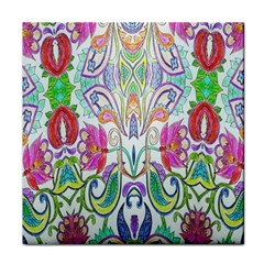 Wallpaper Created From Coloring Book Face Towel
