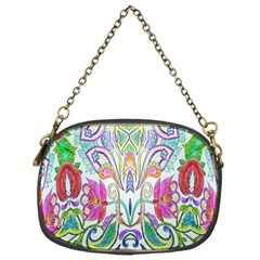Wallpaper Created From Coloring Book Chain Purses (one Side)