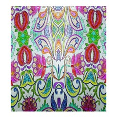 Wallpaper Created From Coloring Book Shower Curtain 66  X 72  (large)