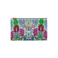Wallpaper Created From Coloring Book Cosmetic Bag (small)