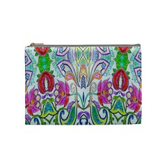 Wallpaper Created From Coloring Book Cosmetic Bag (medium)