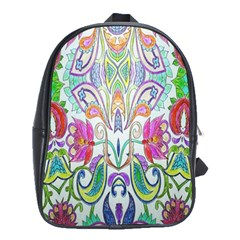 Wallpaper Created From Coloring Book School Bags(Large)