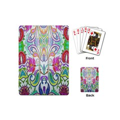 Wallpaper Created From Coloring Book Playing Cards (mini)