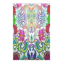 Wallpaper Created From Coloring Book Shower Curtain 48  x 72  (Small)