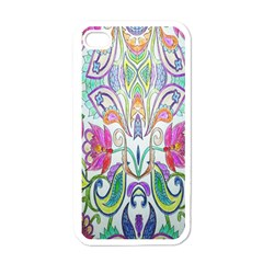 Wallpaper Created From Coloring Book Apple Iphone 4 Case (white)