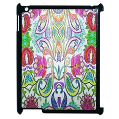 Wallpaper Created From Coloring Book Apple Ipad 2 Case (black)