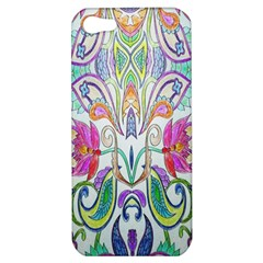 Wallpaper Created From Coloring Book Apple Iphone 5 Hardshell Case