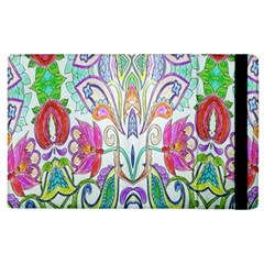 Wallpaper Created From Coloring Book Apple Ipad 2 Flip Case