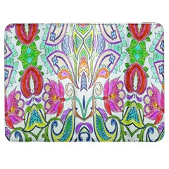 Wallpaper Created From Coloring Book Samsung Galaxy Tab 7  P1000 Flip Case
