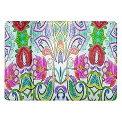Wallpaper Created From Coloring Book Samsung Galaxy Tab 10.1  P7500 Flip Case