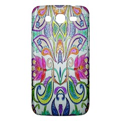 Wallpaper Created From Coloring Book Samsung Galaxy Mega 5.8 I9152 Hardshell Case