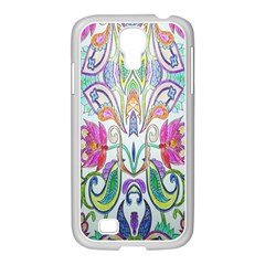 Wallpaper Created From Coloring Book Samsung GALAXY S4 I9500/ I9505 Case (White)