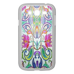 Wallpaper Created From Coloring Book Samsung Galaxy Grand Duos I9082 Case (white)