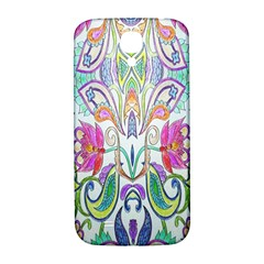 Wallpaper Created From Coloring Book Samsung Galaxy S4 I9500/i9505  Hardshell Back Case