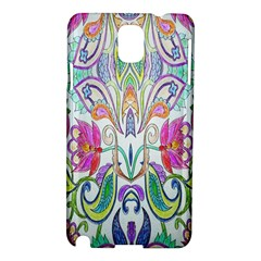 Wallpaper Created From Coloring Book Samsung Galaxy Note 3 N9005 Hardshell Case