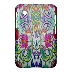 Wallpaper Created From Coloring Book Samsung Galaxy Tab 2 (7 ) P3100 Hardshell Case