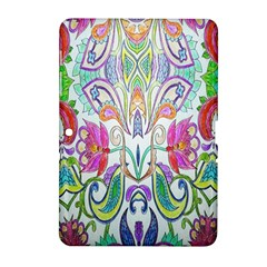 Wallpaper Created From Coloring Book Samsung Galaxy Tab 2 (10 1 ) P5100 Hardshell Case
