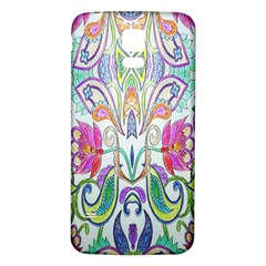 Wallpaper Created From Coloring Book Samsung Galaxy S5 Back Case (white)