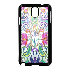 Wallpaper Created From Coloring Book Samsung Galaxy Note 3 Neo Hardshell Case (black)