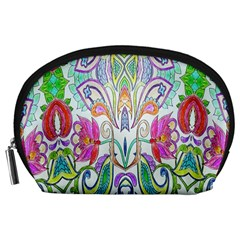 Wallpaper Created From Coloring Book Accessory Pouches (large)