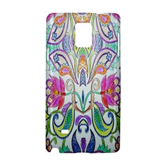 Wallpaper Created From Coloring Book Samsung Galaxy Note 4 Hardshell Case