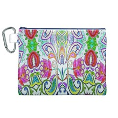 Wallpaper Created From Coloring Book Canvas Cosmetic Bag (xl)