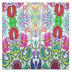 Wallpaper Created From Coloring Book Large Satin Scarf (square)