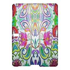 Wallpaper Created From Coloring Book Samsung Galaxy Tab S (10.5 ) Hardshell Case