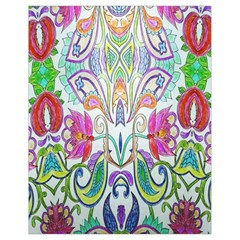 Wallpaper Created From Coloring Book Drawstring Bag (Small)