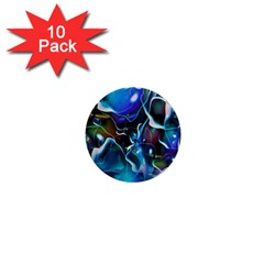 Water Is The Future 1  Mini Buttons (10 pack)