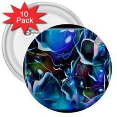 Water Is The Future 3  Buttons (10 Pack)