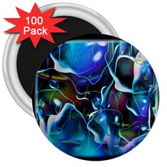 Water Is The Future 3  Magnets (100 pack)