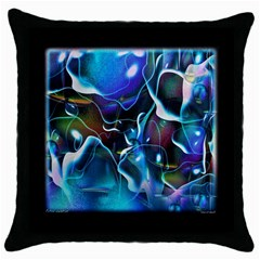 Water Is The Future Throw Pillow Case (black)