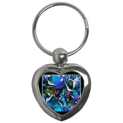 Water Is The Future Key Chains (Heart)