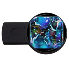 Water Is The Future Usb Flash Drive Round (2 Gb)