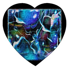 Water Is The Future Jigsaw Puzzle (heart)