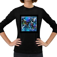 Water Is The Future Women s Long Sleeve Dark T Shirts