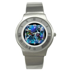 Water Is The Future Stainless Steel Watch