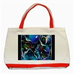 Water Is The Future Classic Tote Bag (red)