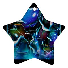 Water Is The Future Star Ornament (two Sides)