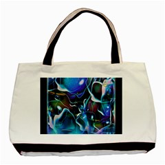Water Is The Future Basic Tote Bag (two Sides)